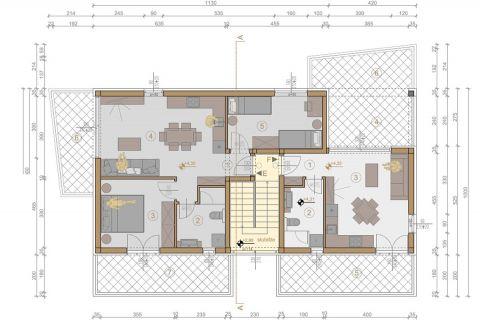Nekretnine Murter, Novi projekt, apartmansko naselje Ruža vjetrova - Tramontana