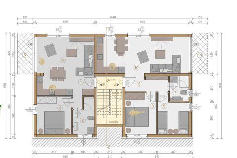 Immobilien Murter, Verkauf von Wohnungen in luxus Komplex AM-634, Mirakul Immobilien 3