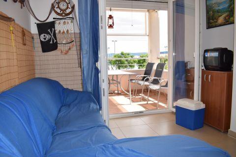 Immobilien Betina Kroatien, Wohnung, Mirakul Immobilienagentur, ID - AB-648, 2-Zimmer-Wohnung, 1. Reihe vom Strand 4