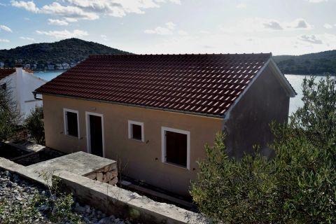 Immobilien Tisno, Verkauf von Haus mit schönem Meerblick KT-511, Mirakul Immobilien 2