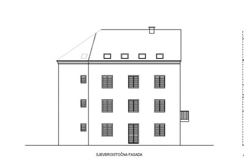 Tisno, Kuća sa novom građevinskom dozvolom