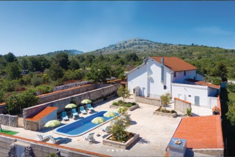 Properties Vodice Croatia, house, Mirakul Real Estate agency, ID - KG-515, House with pool and restaurant 2