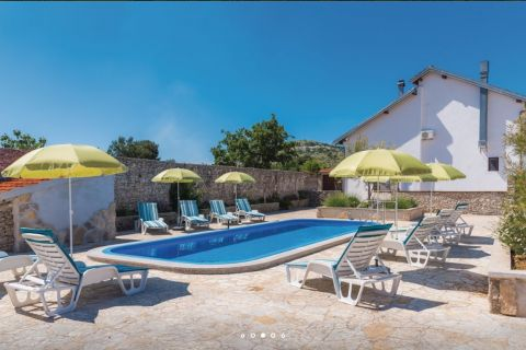 Properties Vodice Croatia, house, Mirakul Real Estate agency, ID - KG-515, House with pool and restaurant 1