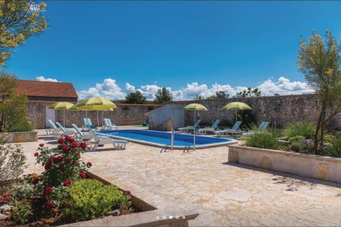 Vodice surounding, House on big plot with pool