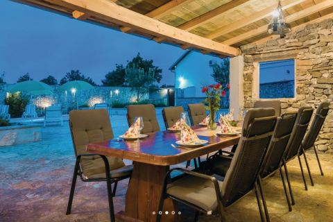 Properties Vodice Croatia, house, Mirakul Real Estate agency, ID - KG-515, House with pool and restaurant 4