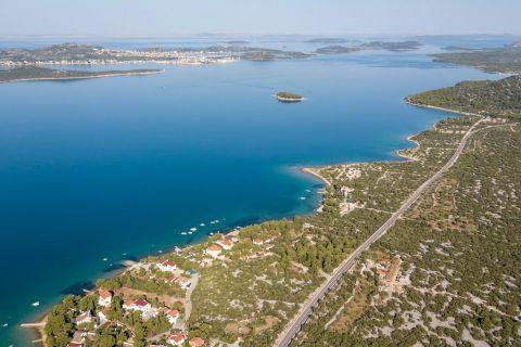 Immobilien Pirovac Kroatien, Land, Mirakul Immobilienagentur, ID - GP-338, Baugrundstück in erster Reihe zum Meer 3