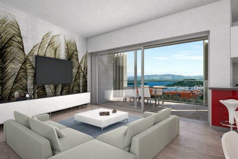 Croatia - Murter, Exclusive apartment in a private residential area