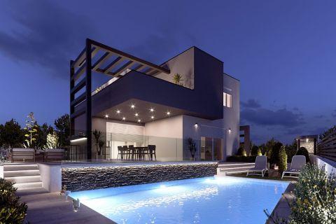 Immobilien Brodarica, Verkauf von luxüriöse und moderne Villa KB-534, Mirakul Immobilien