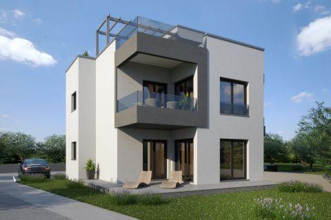 Immobilien Murter Kroatien, Verkauf von Wohnung in modernem Neubau AM-733, Mirakul Immobilien