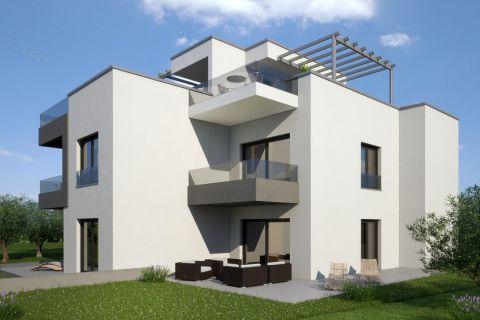 Nekretnine Murter, Prodaja novog stana blizu plaže AM-734, Mirakul nekretnine