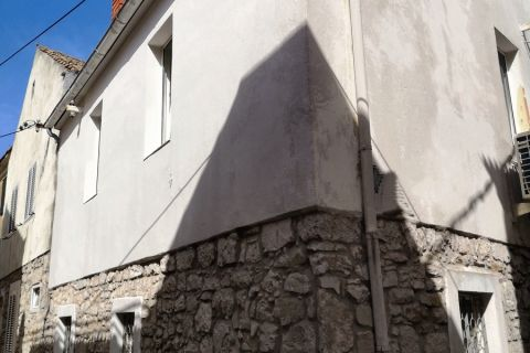 Real estate Murter, Old stone house for renovation for sale, 20 meters from the sea, KM-536, Mirakul real estate 1