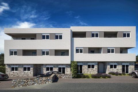 Nekretnine Brodarica, Prodaja luksuznog stana u blizini plaže sa pogledom na more, AB-740, Mirakul nekretnine 3