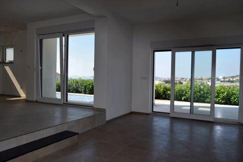 Nekretnine Vodice, Luksuzna vila sa panoramskim pogledom, Bazen