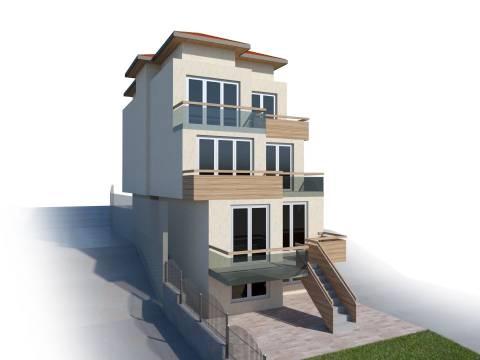 Projekat Villa novogradnja sa 3. stana Stari Grad