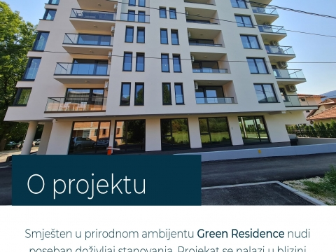 Green Residence, idealna prilika za stanovanje i ulaganje