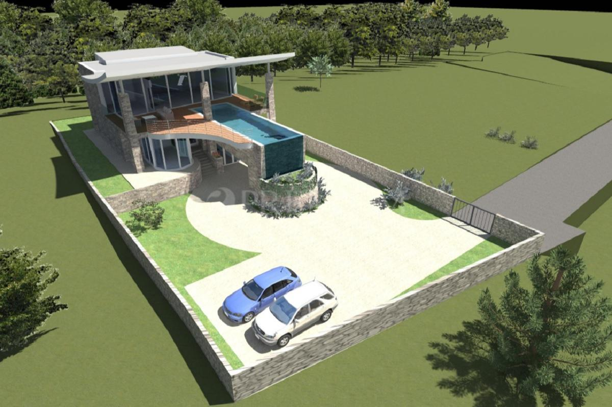 Control system modern house project