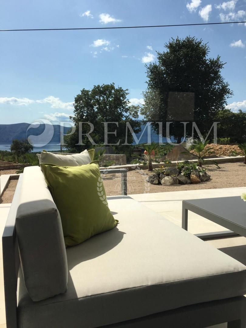 Krk, okolica, prodaja, moderna villa od 170 m2 s pogledom na more