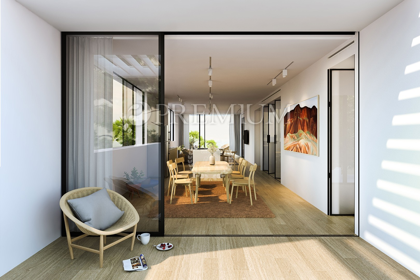 Malinska, prodaja ekskluzivnog apartmana na 1. katu od 147,60m2 s okućnicom i bazenom u elitnom dijelu Malinske! 150m od plaže! Useljenje 01.06.2020!