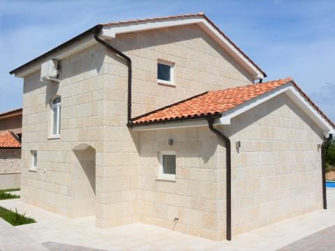 Okolica Dobrinja, ekskluzivna nova kamena kuća sa bazenom na prodaju!!