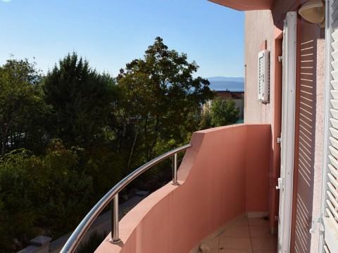 Malinska, Verkauf der möblierten Wohnung mit wunderschönem Meerblick!