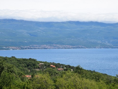 Vrbnik, surroundings, sale of new detached villa with swimming pool and sea view!