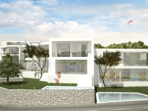 Šilo, prodaja, urbana vila z bazenom, obdana z zelenjem, le 150 m od morja!