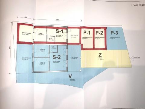 Malinska, prodaja samostojeće kamene kuće s dva stana, 150 m od plaže!