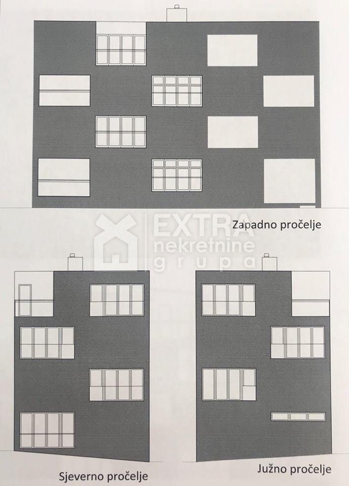 ZAGREB - TREŠNJEVKA - STAN U PRIZEMLJU - 124,94 M2