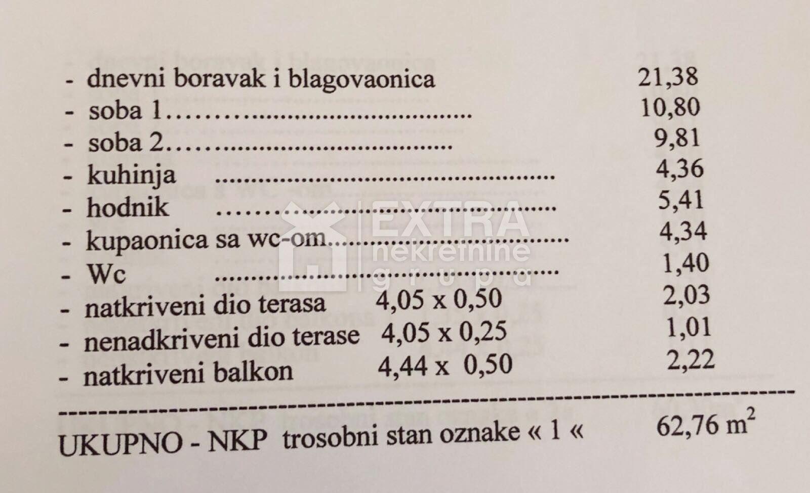 ZAGREB - VRAPČE - TROSOBAN STAN SA GARAŽOM I VRTOM