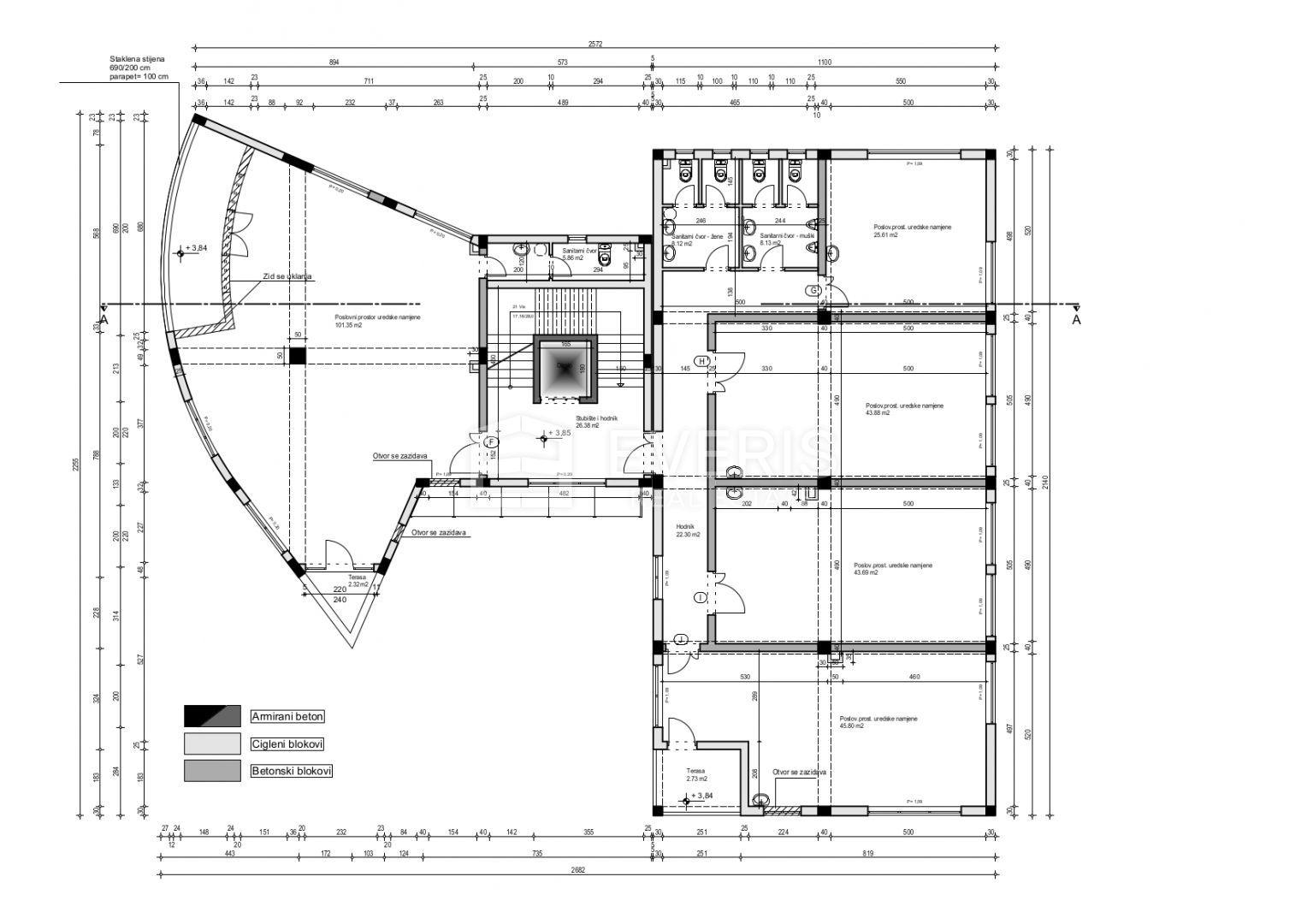 Geschäftsraum Rovinj, 1.472,10m2
