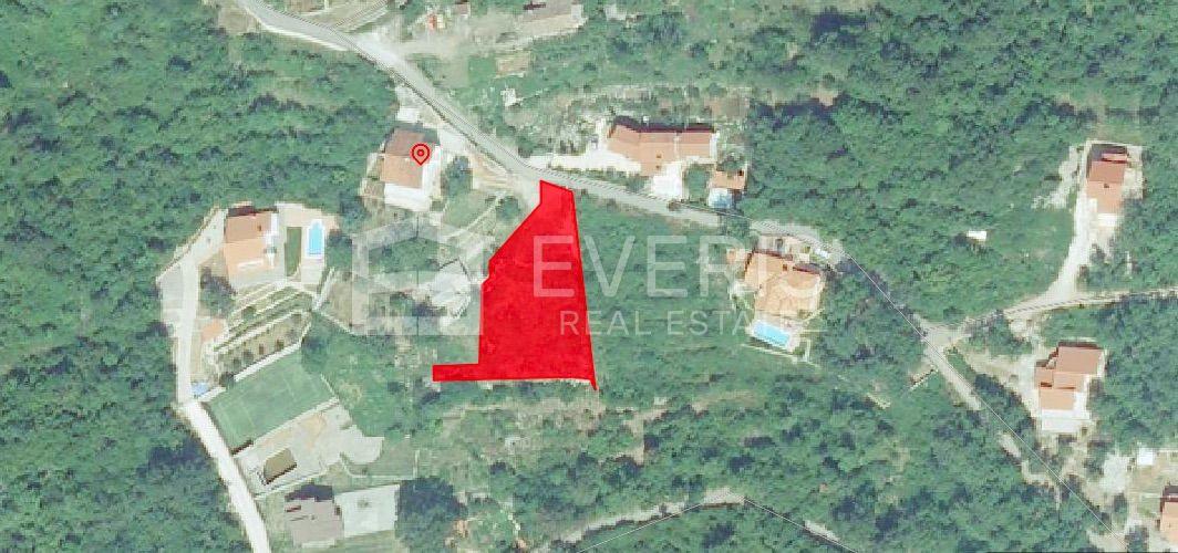 Opatija, Veprinac, građevinsko zemljište 1200 m2