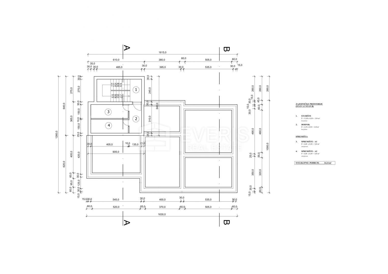 Kastav, stan 2S+DB 84 m2