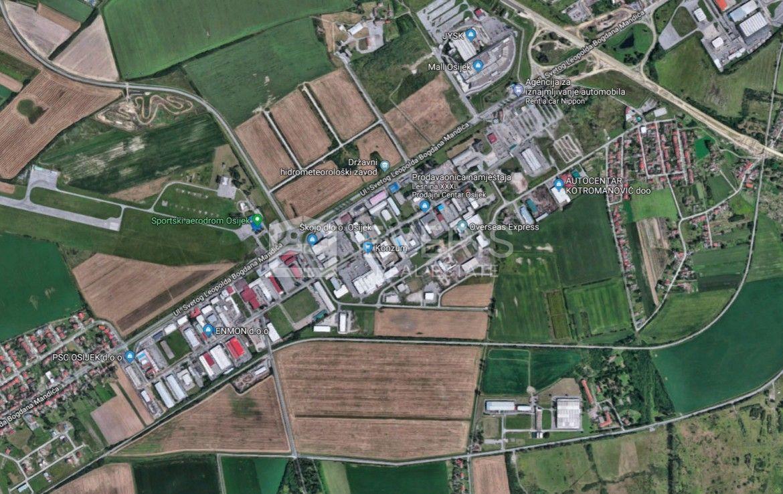 Osijek, uredska poslovna zgrada 1.156 m2