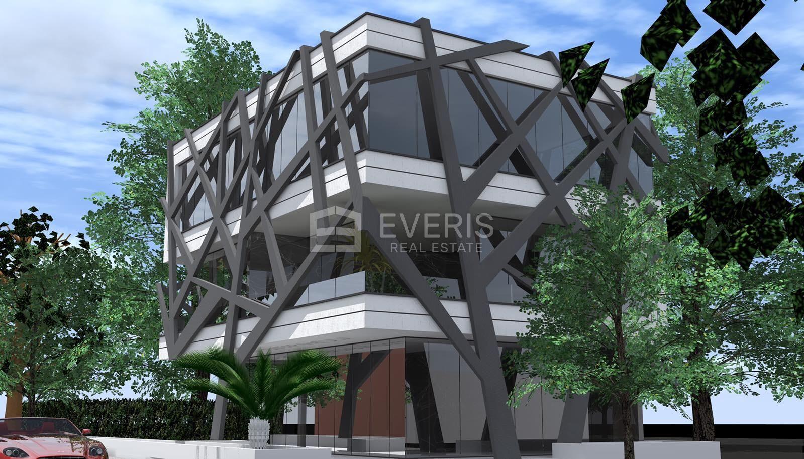 Matulji, strogi centar, poslovna zgrada 600 m2