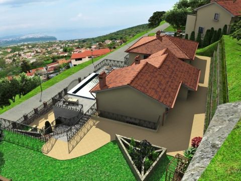 Rukavac, kuća s panoramskim pogledom