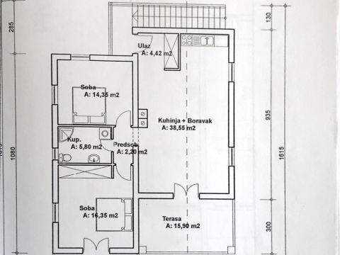 Opatija, Poljane, zemljište površine 2007 m2 s građevinskom dozvolom