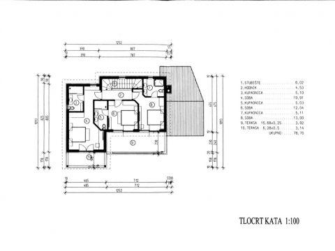 Ičići, kuća, novogradnja, 180 m2, s bazenom