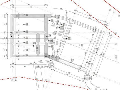 Ičići, građevinsko zemljište 1216 m2 s dozvolom za gradnju vile
