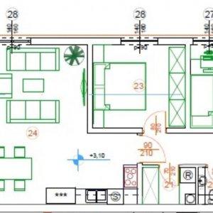 Novogradnja visoke kvalitete na odličnoj lokaciji, 2s+db