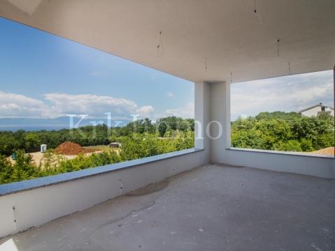 Kuća s pogledom na more. Bazen. Novo.