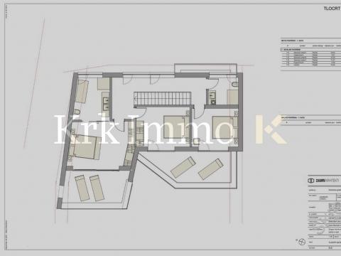 Designvilla mit Meerblick. Schwimmbad. / Krk Immo