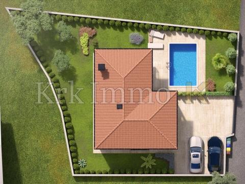 Villa s pogledom na more i bazenom. Super lokacija.