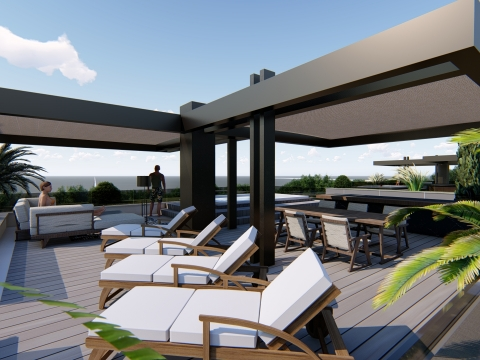 Are you looking for a penthouse near the sea?