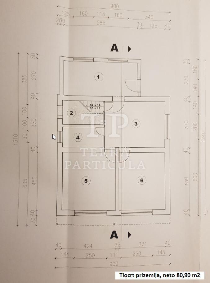 Petrinja, rohbau katnica 173 m2, Ive Maline 68