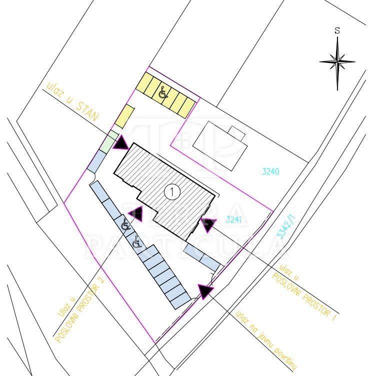 Tuheljske Toplice, Restoran sa šest soba i stanom od 101,49 m2