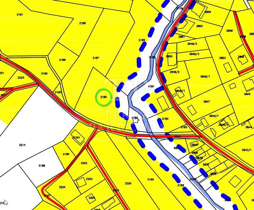 Tuheljske Toplice, Bolnička ulica, gradilište 1687 m2, 20.244 eur