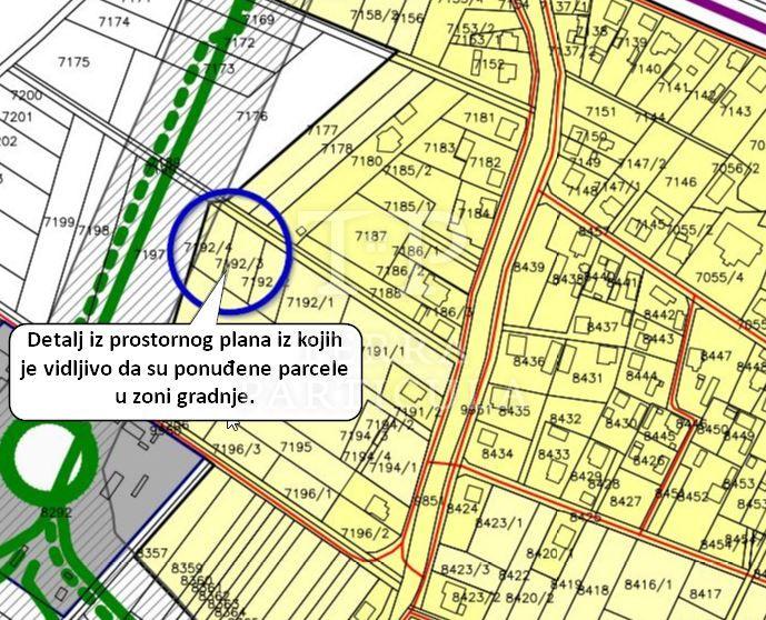 Zabok, gradilište 759 m2, 15.000 €