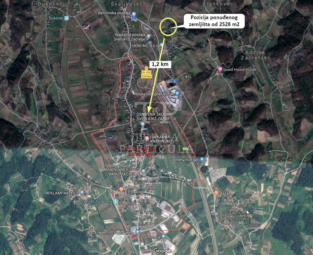 Grundstück Vrankovec, Sveti Križ Začretje, 2.528m2