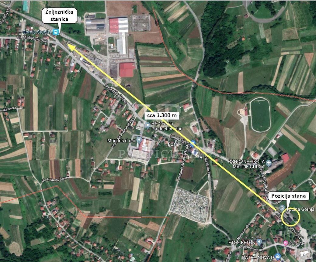 Gornja Stubica, centar, I kat, 72,01 m2 = 60.000 eur