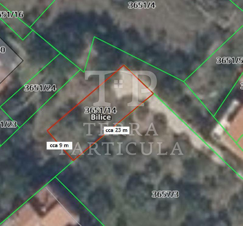 Bilice, gradilište za objekt od cca 200 m2, za samo 32.000 eur-a